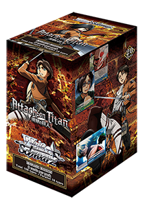 Attack on Titan (EN) Sealed Booster Box
