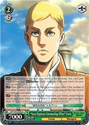 """Scout Regiment Commanding Officer"" Erwin"