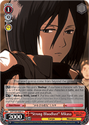 """Strong Bloodlust"" Mikasa"