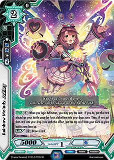 Rainbow Melody, Ashley SR Foil