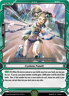Cyclone Punch!