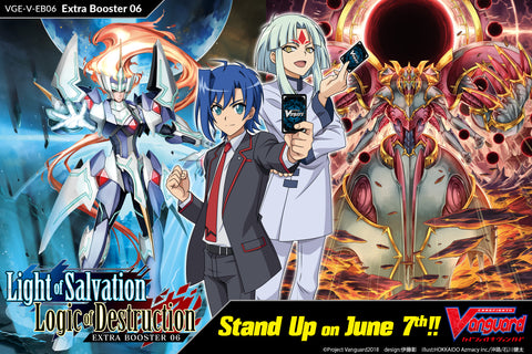 CFV VGE-V-EB06: Light of Salvation, Logic of Destruction Royal Paladins Playset (4 of each VR, RRR, RR, R, and C)