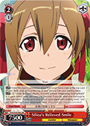 Silica's Relieved Smile