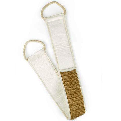 jute and bamboo back scrubber