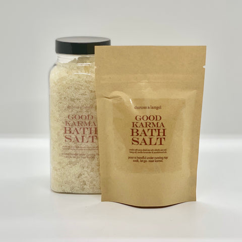 good karma bath salts