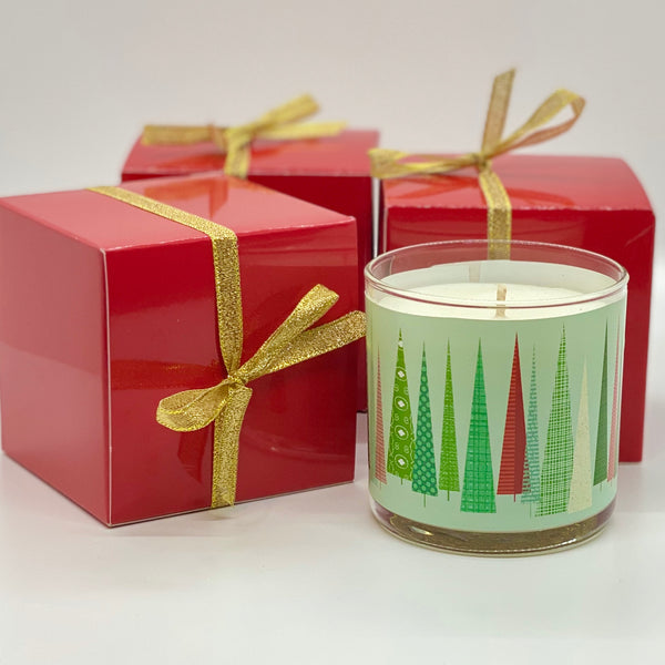 Holiday Scene Candle - Fraser Fir