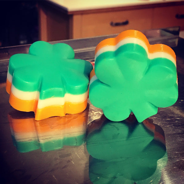 shamrock soap - limited edition