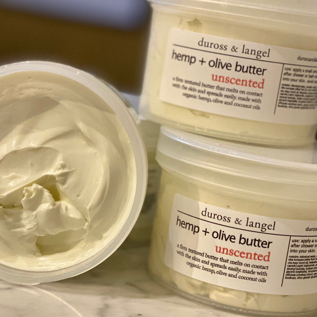 hemp and olive butter moisturizer - unscented