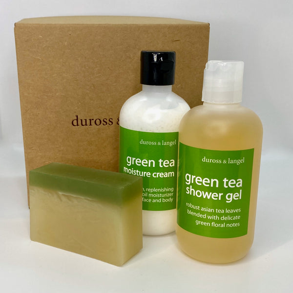 green tea gift trio