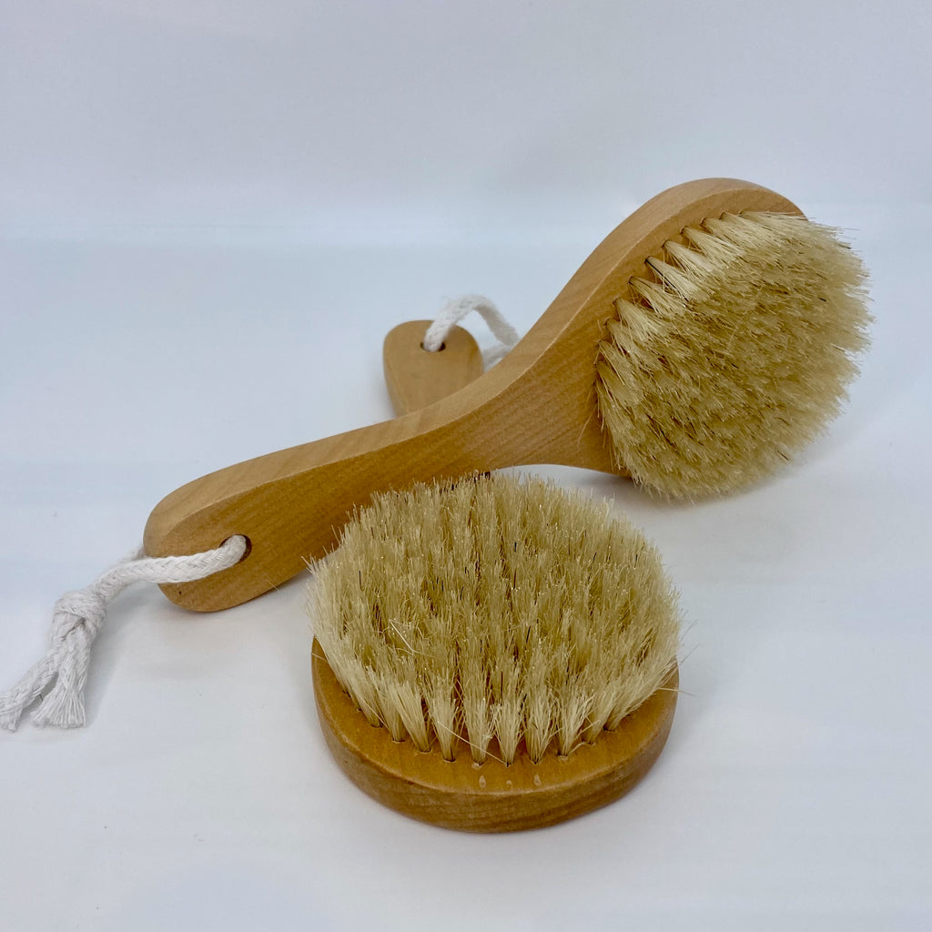 short handle bath brush