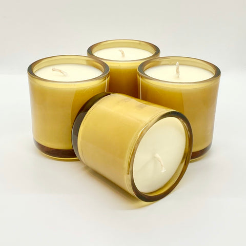 Custom Mid Century Whiskey Glass Candle - online only