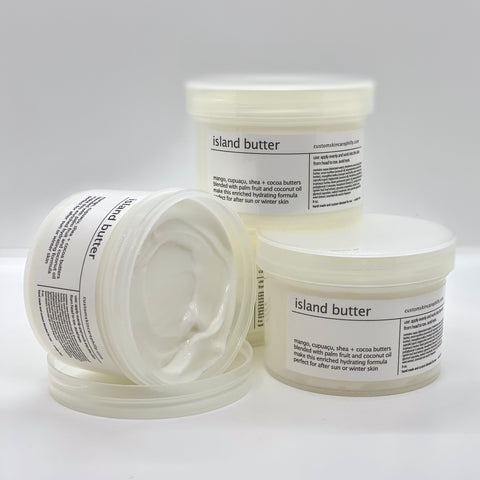 black pepper island butter moisturizer