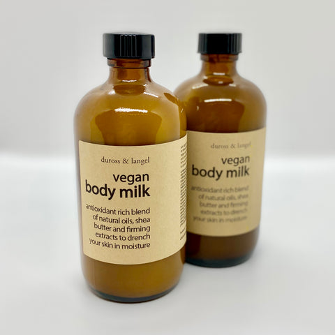 vegan body milk - with pump