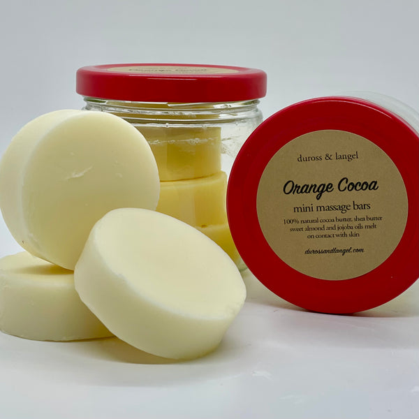 massage bar - orange cocoa (3 disc)