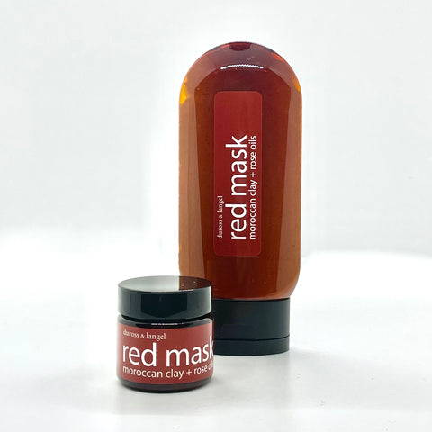 red mud mask - sensitive or dry skin types
