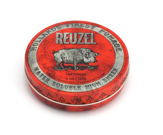 reuzel red pomade - high shine and hold