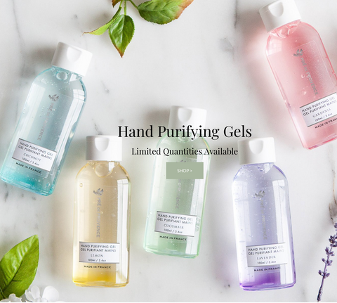 purifying hand gel - gel sanitizer