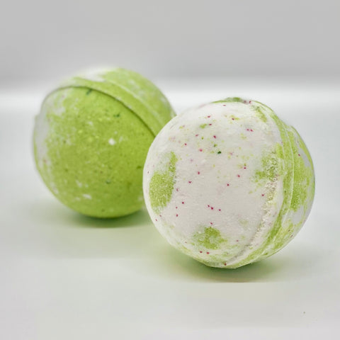 apple blossom bath bomb