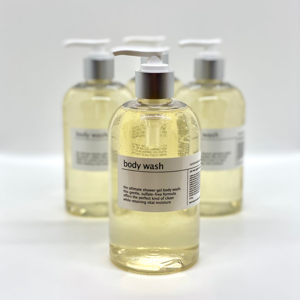 custom aromatherapy body wash/shower gel - online only