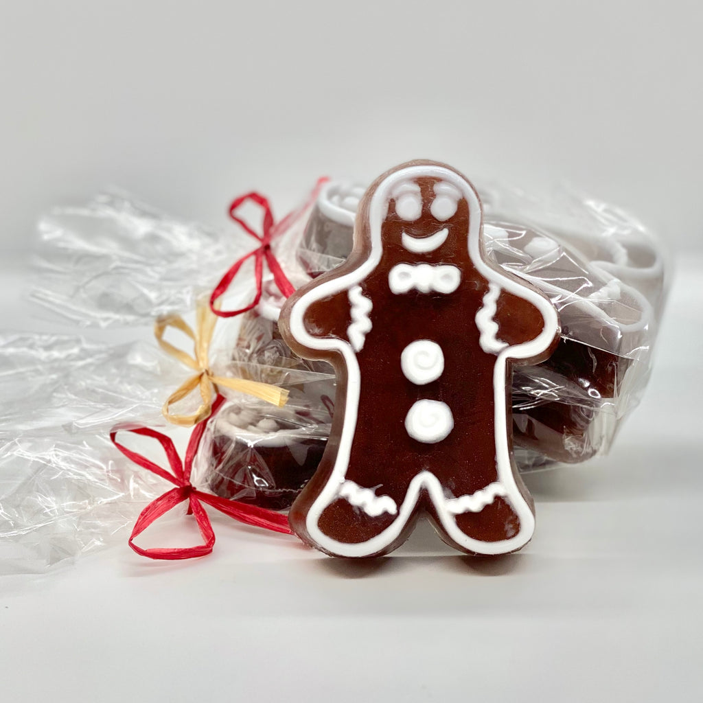soap - holiday gingerbread men