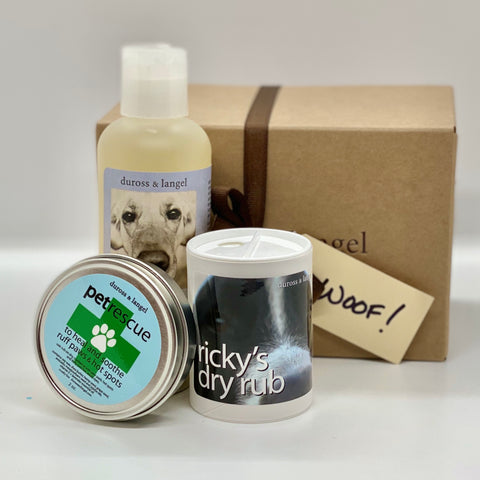 good dog gift box - woof!