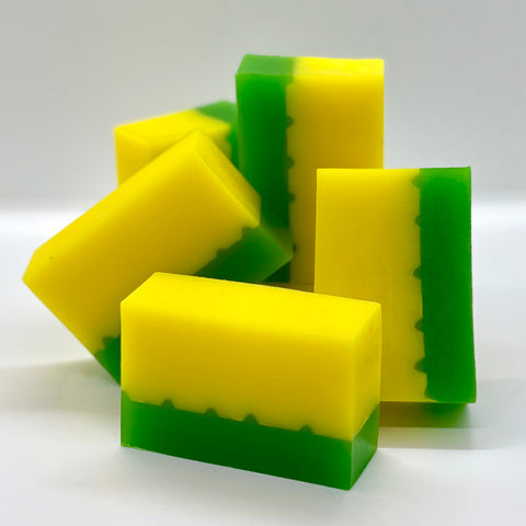 lemonseed + parsley soap - soap of the month