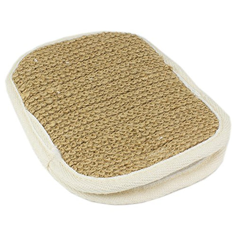 bamboo and jute soap mitt