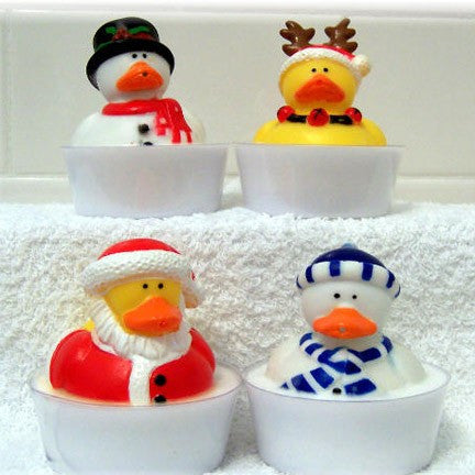 kid's holiday duck soap