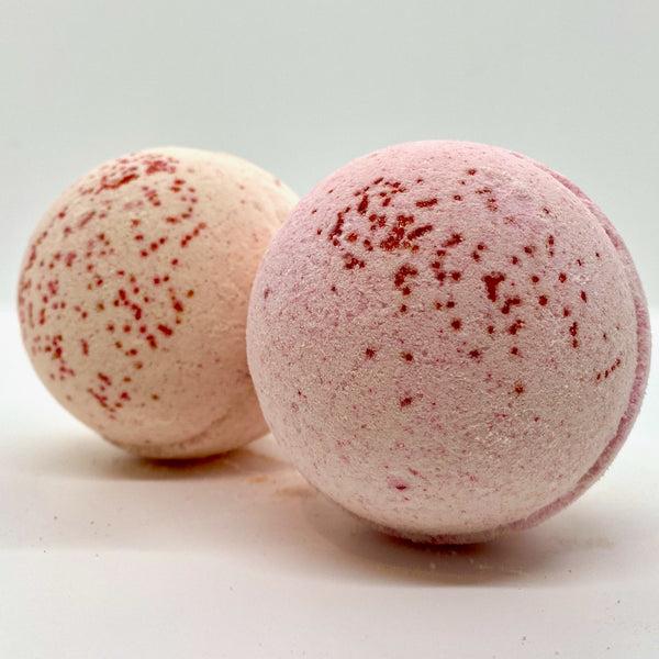pomegranate apple bath bomb