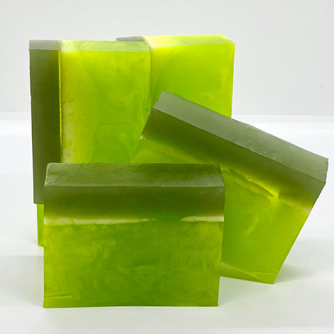 spiced lime soap