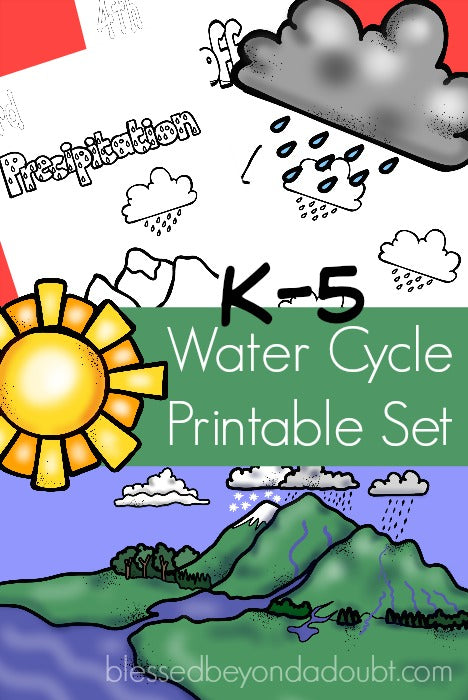 water cycle paper - photo #18