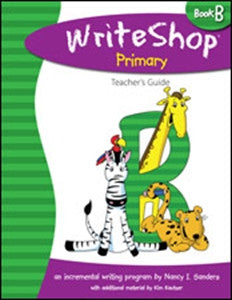 WriteShop Primary Book B Teacher's Guide - Yellow House Book Rental