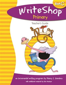 WriteShop Primary Book C Teacher's Guide - Yellow House Book Rental