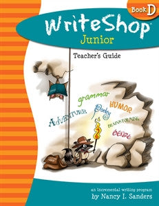 WriteShop Junior Book D Teacher's Guide - Yellow House Book Rental