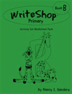 WriteShop Primary Book B Activity Set Worksheet Pack - Yellow House Book Rental