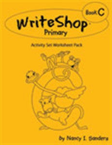 WriteShop Primary Book C Activity Set Worksheet Pack - Yellow House Book Rental