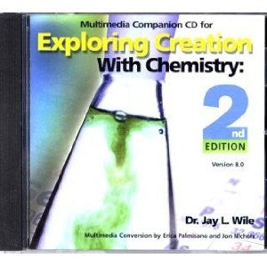 Exploring Creation With Chemistry CD - Yellow House Book Rental