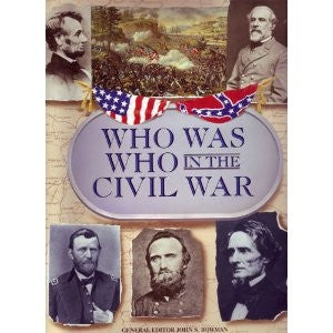 Who Was Who in the Civil War - Yellow House Book Rental