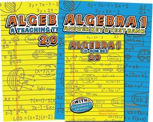 Teaching Textbooks, Algebra 1,  2.0 - Yellow House Book Rental