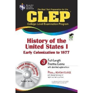 CLEP: History of the United States 1 (REA) - Yellow House Book Rental