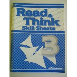 Read & Think Skill Sheets 3 - Yellow House Book Rental