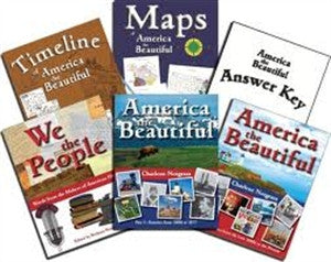 America the Beautiful Curriculum Package - Yellow House Book Rental