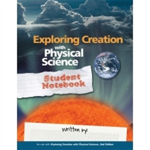 Exploring Creation with Physical Science Notebooking Journal - Yellow House Book Rental