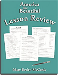 America the Beautiful Lesson Review - Yellow House Book Rental