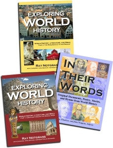 Exploring World History Curriculum Package 1st Edition - Yellow House Book Rental