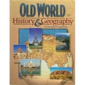 Old World History and Geography-Partial Set - Yellow House Book Rental