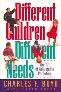 Different Children Different Needs - Yellow House Book Rental