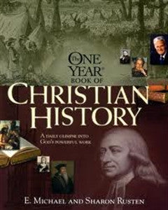 One Year Book of Christian History - Yellow House Book Rental