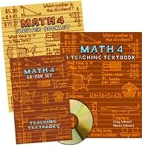 Math 4 Teaching Textbooks - Yellow House Book Rental