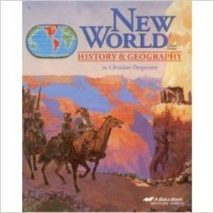 New World History and Geography Bundle - Yellow House Book Rental